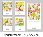 card or invitation. vector... | Shutterstock .eps vector #772727926