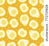 yellow fruits texture   Shutterstock .eps vector #772729828