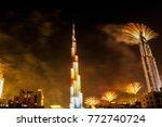dubai  united arab emirates  ... | Shutterstock . vector #772740724