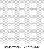 vector seamless pattern  modern ... | Shutterstock .eps vector #772760839