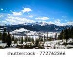 Keystone mountain. Colorado USA - stock photo