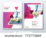 brochure template layout design....   Shutterstock .eps vector #772773889