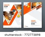 brochure template layout design.... | Shutterstock .eps vector #772773898