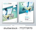 brochure template layout design.... | Shutterstock .eps vector #772773970