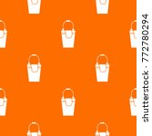 bucket and rag pattern repeat... | Shutterstock .eps vector #772780294