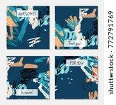 hand drawn creative universal... | Shutterstock .eps vector #772791769