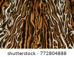 abstract feline fur background... | Shutterstock . vector #772804888