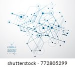 vector industrial and... | Shutterstock .eps vector #772805299