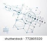 vector industrial and... | Shutterstock .eps vector #772805320