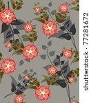 beautiful seamless pattern...   Shutterstock .eps vector #77281672