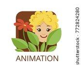 animation cinema genre  symbol... | Shutterstock .eps vector #772824280