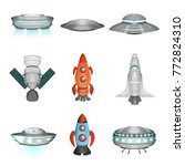 detailed collection of... | Shutterstock .eps vector #772824310