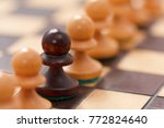 chess business concept  leader... | Shutterstock . vector #772824640