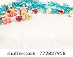suitable for a greeting message ... | Shutterstock . vector #772827958