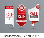 sale banner template   Shutterstock .eps vector #772837414
