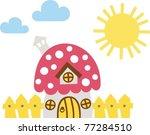 house fungus | Shutterstock .eps vector #77284510