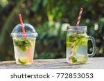 zero waste concept use a... | Shutterstock . vector #772853053