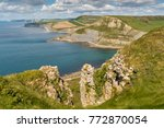 view from the south west coast... | Shutterstock . vector #772870054