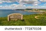 stone bench at the south west... | Shutterstock . vector #772870108