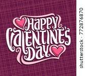 Vector Poster For St. Valentine'...