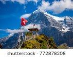 lauterbrunnen  switzerland   9...   Shutterstock . vector #772878208