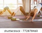 women asian exercising in