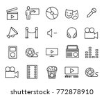 simple collection of... | Shutterstock .eps vector #772878910