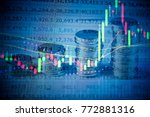financial accounting of profit... | Shutterstock . vector #772881316