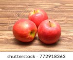 pink lady apples | Shutterstock . vector #772918363