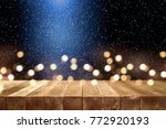 table background of free space... | Shutterstock . vector #772920193