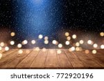 table background of free space... | Shutterstock . vector #772920196