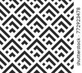 black and white seamless...   Shutterstock .eps vector #772923478