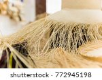 close up of selective focus of... | Shutterstock . vector #772945198
