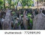 prague czech republic  ... | Shutterstock . vector #772989190