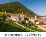 Switzerland   Chur   Towers ...