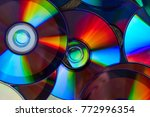 background of shiny compact... | Shutterstock . vector #772996354