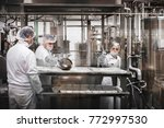 Workers At The Cheese Factory...
