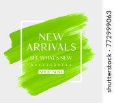 new arrivals sale text over art ...   Shutterstock .eps vector #772999063