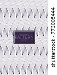 abstract geometric vector...   Shutterstock .eps vector #773005444