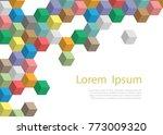 vector template banner or...   Shutterstock .eps vector #773009320