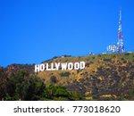hollywood california   december ... | Shutterstock . vector #773018620
