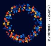 vector confetti background...   Shutterstock .eps vector #773020474