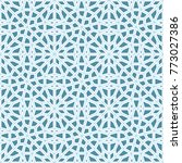 seamless islamic background....   Shutterstock .eps vector #773027386