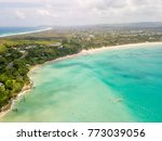 an aerial view of byron bay on... | Shutterstock . vector #773039056