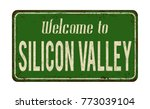 welcome to silicon valley... | Shutterstock .eps vector #773039104