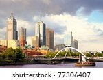 Beautiful View Of Melbourne...