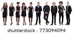 business people in black | Shutterstock . vector #773094094
