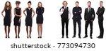 business people in black | Shutterstock . vector #773094730