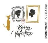 illustration for valentine's... | Shutterstock .eps vector #773116450