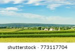amish country farm barn field... | Shutterstock . vector #773117704
